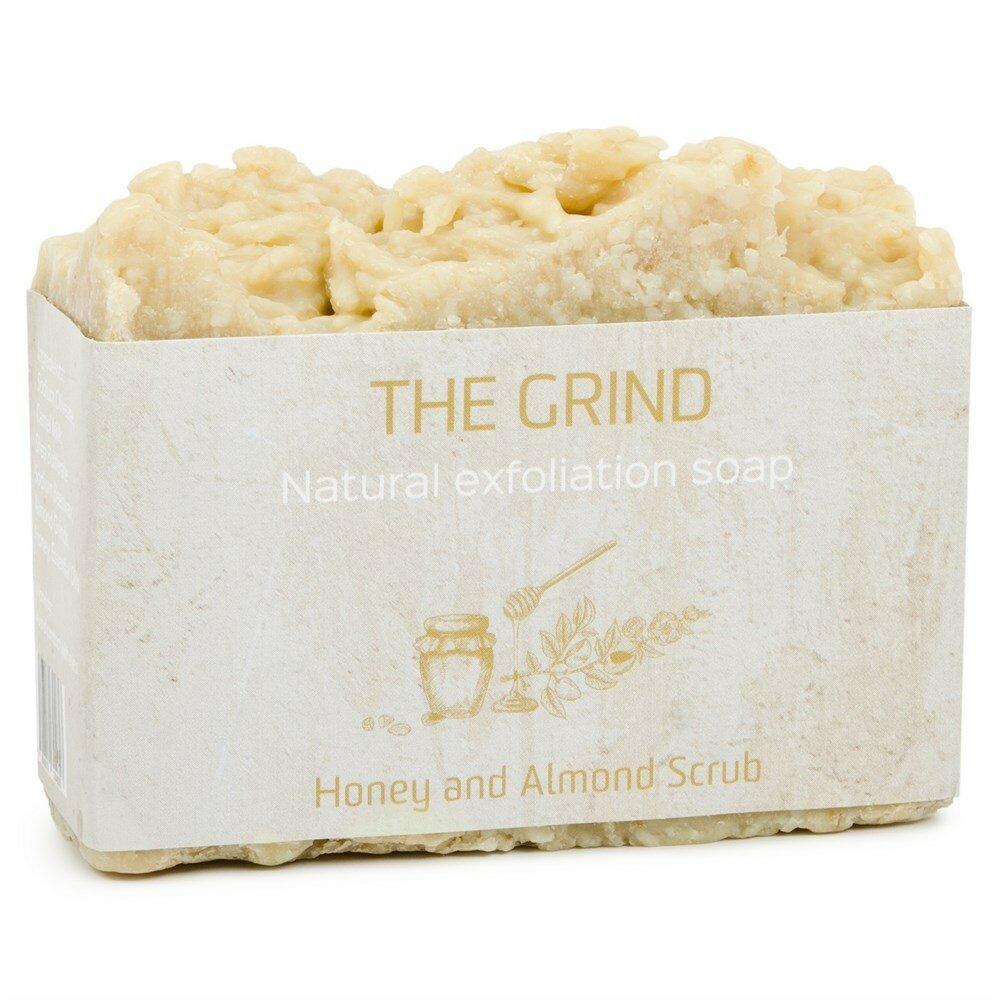 Мыло - скраб из верблюжьего молока The Camel Soap Factory с миндалем и медом