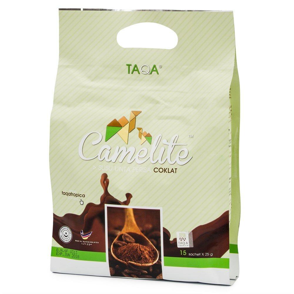 Верблюжье молоко напиток TAQA tropica - шоколадный вкус