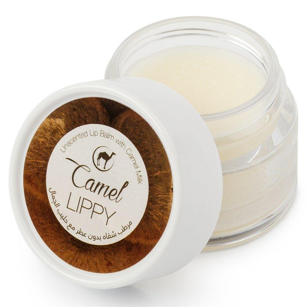 Бальзам для губ - без аромата The Camel Soap Factory из верблюжьего молока