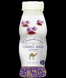Верблюжье молоко - вкус шафрана