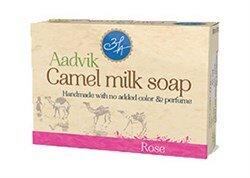 Мыло из верблюжьего молока - роза