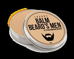 Бальзам для бороды из верблюжьего молока - аромат клубники
