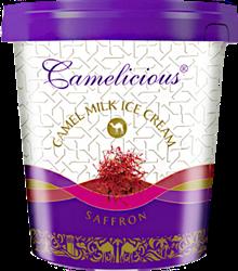 Мороженое из верблюжьего молока - шафран