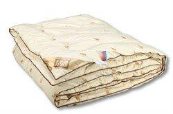 Одеяло из верблюжей шерсти,пэ - классическое-всесезонное Сахара 140х205