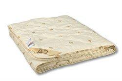Одеяло из верблюжей шерсти,пэ - легкое Сахара 140х205
