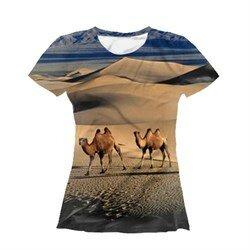 Футболка женская - Пустыня