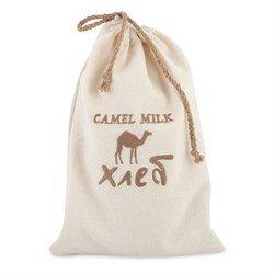 Хлеб на верблюжьем молоке  с шиповником