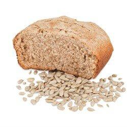 Ржаной хлеб на верблюжьем молоке с семенами подсолнуха