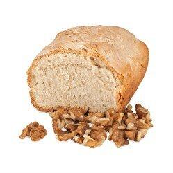 Хлеб на верблюжьем молоке  с грецким орехом