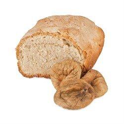 Хлеб на верблюжьем молоке  с инжиром