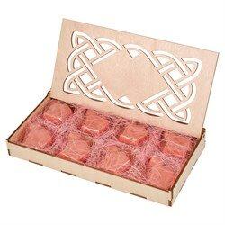 Конфеты из верблюжьего молока в шкатулке - Розовый шоколад  Limited Edition- 8 шт