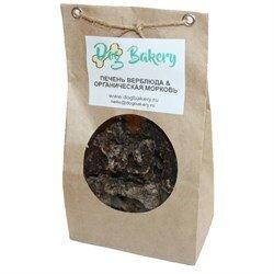 Печенье для собак с лёгким верблюда и органической морковью